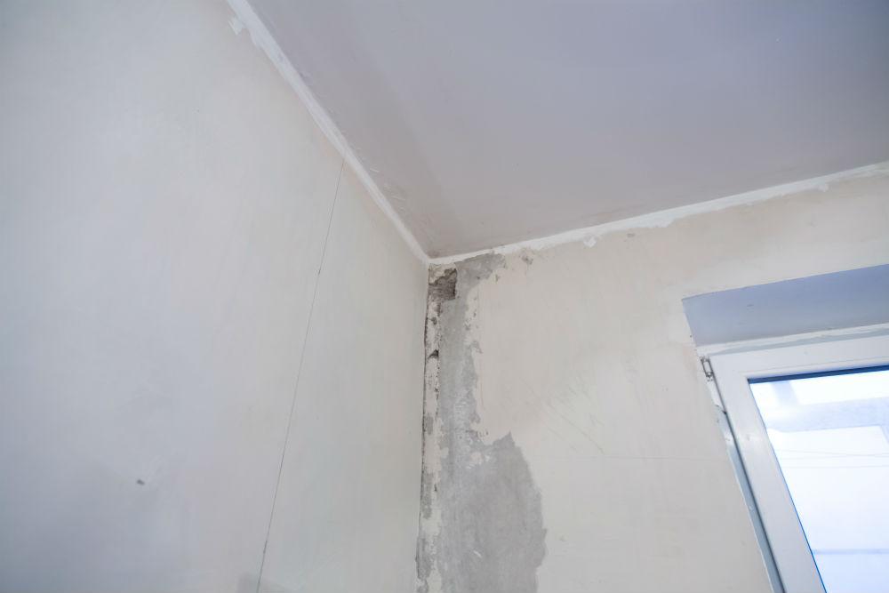 Vazamento em parede